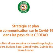 COVID-19 Plan and Strategy for Communication In ECOWAS Member States
